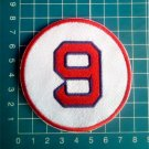 "Ted Williams Retired Number 9 Boston Red Sox MLB Baseball 3"" Patch embroidered"