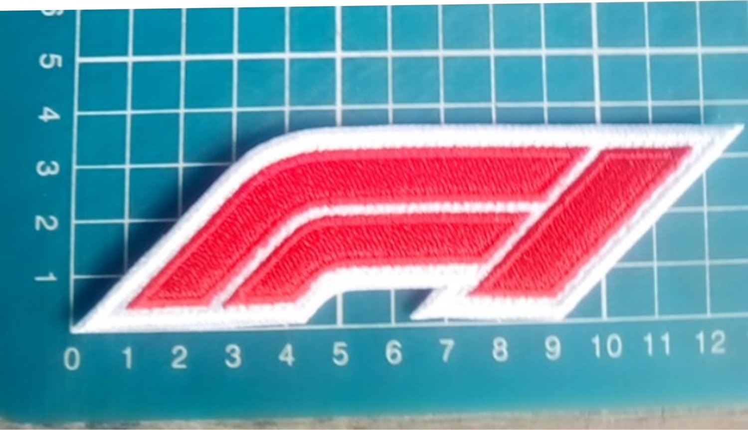 """F1 Formula  One Racing 5"""" sports Car Motor logo Jersey Patch embroidered"""