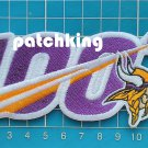 Minessota Vikings Huddle 100 NFL Football Anniversary Centennial  patch embroid