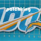 Los Angeles Chargers Huddle 100 NFL Football Anniversary Centennial patch jersey