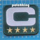 GREEN BAY PACKERS CAPTAIN C PATCH 4GOLD STAR 2019 SEASON NFL FOOTBALL SUPERBOWL