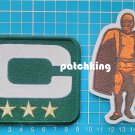 Green Bay Packers Captain C patch 3 gold star + Walter Payton Man of Year Patch