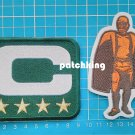 Green Bay Packers Captain C patch 4 gold star + Walter Payton Man of Year Patch