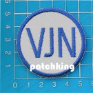 "2019 Tampa Bay Rays VJN Vince Naimoli memorial patch MLB Baseball 2"" embroidered"
