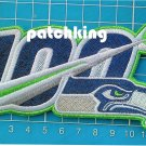 """2019 NFL huddle for 100 Seattle Seahawks anniversary patch jersey 5.5"""" embroid"""