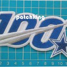 "2019 NFL huddle for 100 Dallas Cowboys anniversary patch jersey 5.5"" embroid"