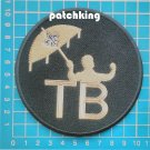 "New Orleans Saints Tom Benson TB Memorial 4"" Patch logo Embroidered NFL Football"