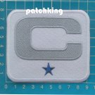 DALLAS COWBOYS DAK PRESCOTT #4 QB ONE-1-⭐CAPTAIN C PATCH NFL FOOTBALL PATCH