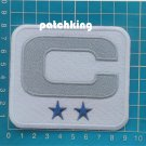 "2019 Dallas Cowboys Captain C Patch 2 Star NFL Football Jersey 3.5"" Patch"