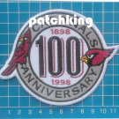 "NFL Football Arizona Cardinals 100th years Anniversary patch jersey 4.5"" embroid"