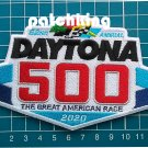 "Daytona 500 Patch Feb 16 2020 NASCAR Racing 4"" Jersey sew on embroidery"