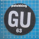 "Baltimore Ravens Gene Upshaw #63 Memorial NFL Football 3,5"" Patch embroid patch"
