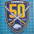 "Buffalo Sabres 50th Anniversary 1970-2020 Team Hockey NHL 3.5"" Patch embroidered"