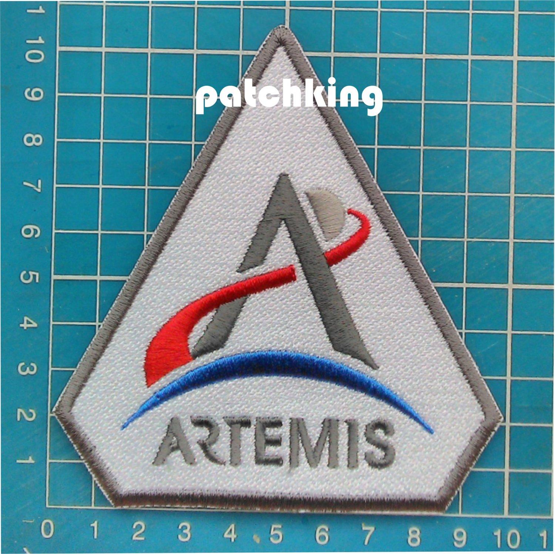 "ARTEMIS PROGRAM  SPACE PROGRAM 4"" PATCH NASA MOON ASTRONAUTS SEW ON"