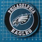 "PHILADELPHIA EAGLES NFL SUPERBOWL FOOTBALL 4"" 10cm LOGO PATCH SEW ON EMBROIDERY"