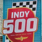 "2020 Indy 500 Indianapolis 500 104th racing logo 9.4"" 24cm patch embroidered sew"