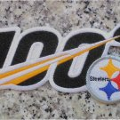 Pittsburgh Steelers Huddle 100 NFL Football Anniversary Centennial patch embroid