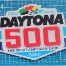"2020 Daytona 500 The Great American Race 9.8"" Patch Racing Car sew on embroidery"