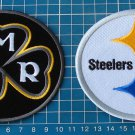 NFL FOOTBALL PITTSBURGH STEELERS DMR DAN ROONEY 2017 2-patches EMBROIDERED SEW