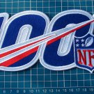 """NFL 100th years Anniversary 2019 logo Patch Football Jersey huge 10"""" embroidered"""