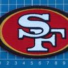 SAN FRANCISCO 49ers NFL SUPERBOWL FOOTBALL LOGO PATCH JERSEY SEW ON EMBROIDERY