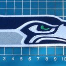 """Seattle Seahawks Football NFL Superbowl logo patch 4.9"""" Jersey sew on embroidery"""