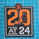 2020 MLB Baseball San Francisco Giants 20th Anniversary 24 Willie Mays Plaza