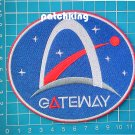 "Lunar Gateway NASA Artemis Program 4"" Patch Jersey sew on embroidery"