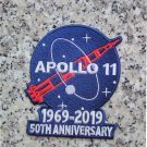 "Apollo 11 50th anniversary 4"" patch 1969-2019 Astronauts Exploration Mission"