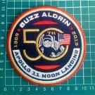 """NASA Apollo 11 50th Anniversary Buzz Aldrin Moon Landing Patch Logo 4"""" Jersey"""