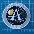 APOLLO A PROGRAM PROJECT MAN MOON LANDING LOGO PATCH NASA SEW ON EMBROIDERY