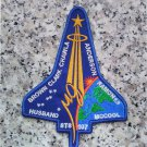 Nasa sts-107 Columbia Space Shuttle NASA Memorial Jersey Sleeve Patch (2003)