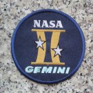 NASA GEMINI II Mission Patch  Space travel exploration Jersey  sew on embroidery