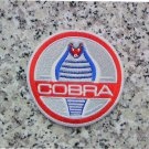 SHELBY COBRA RACING EMBROIDERED PATCH MUSTANG 289 427 428 GT350 GT500