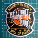 "Naismith Memorial Basketball Hall of Fame HOF NBA 5"" Patch Jersey embroidered"
