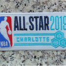 "NBA 2019 All Star Game Charlotte Hornets 4"" Patch Jersey Embroidered"