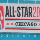 "2020 NBA All Star Game logo Chicago Bulls Basketball 4"" Patch Jersey Embroidered"