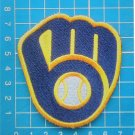 2020 MLB Baseball Milwaukee Brewers Baseball Cap logo patch sew on embroid