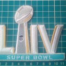 """2020 superbowl LIV 54 NFL Football championship Jersey 4.5"""" Patch embroidered"""