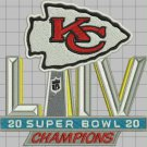 2020 Superbowl Champions Kansas City Chiefs NFL Football Jersey Sew on embroid