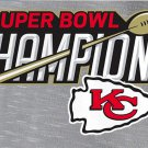 "Kansas City Chiefs Champions 2020 Superbowl NFL Football 4,5"" Jersey Sew on embroid"