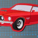 1969 Ford Mustang BOSS 429 huge seatvocer car racing patch sew on embroidery