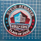 STEVE ATWATER HALL OF FAME CLASS 2020 NFL FOOTBALL PATCH SEW ON EMBROIDERED