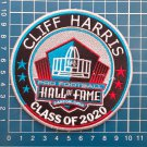 CLIFF HARRIS HALL OF FAME CLASS 2020 NFL FOOTBALL PATCH SEW ON EMBROIDERED