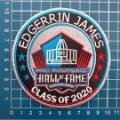 EDGERRIN JAMES INDIANAPOLIS COLTS HOF 2020 NFL FOOTBALL PATCH SEW ON EMBROIDERED