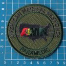 AMR American Medical Response Paramedic green sew on embroidery patch