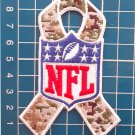 NFL Salute to Service ACU Camo Camouflage Ribbon Logo Patch Sew On Embroidery
