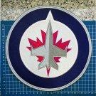 "Winnipeg Jets NHL Hockey Primary Team Huge Logo Jersey Emblem 9.8"" Patch sew on"