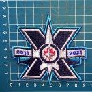 Winnipeg Jets 10th Anniversary NHL Hockey Team Logo Jersey Emblem Patch sew on Patch