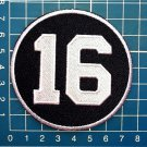 NHL Hockey Montreal Canadiens Henri Richard 16 Memorial Patch sew on embroid